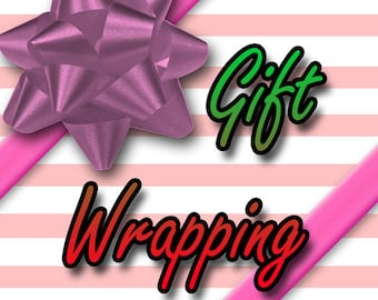 Gift Wrapping Upgrade - Gift Wrapping Service - Gift Box - Present