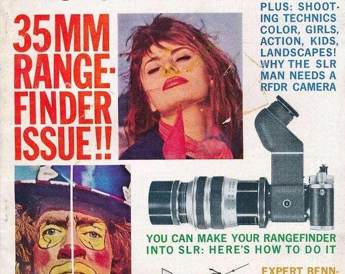 Vintage Modern Photography Magazine MAR 1962 - Collectible - Ads from Kodak, Leica, Rolleiflex, Nikon, Canon, Minolta, Graflex and More!