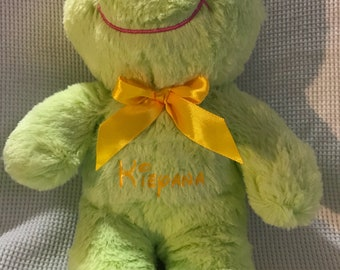 Personalized plushed stuffed animals, Birthdays, Baby gifts, Arrival dates