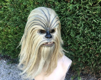 Wookie lifesize head size 1/1 chewbacca style props collection star / wars