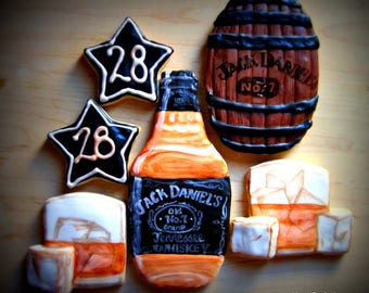 Jack Daniels Sugar Cookies - Any Occasion