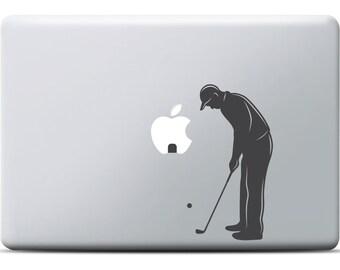 Mini Golf MacBook Sticker, Laptop Sticker, MacBook Pro, MacBook Air, Laptop decal, Vinyl, Sports