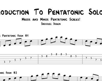 Introduction To Pentatonic Soloing!