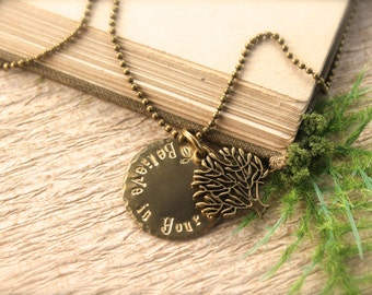 Tree Believe in Yourself Necklace