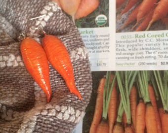 Baby Carrot Earrings