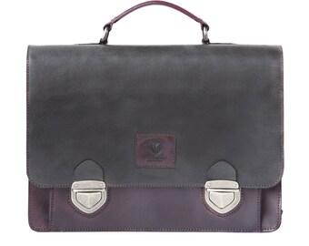 Leather Laptop Bag Crossbody Men's  Women's Briefcase Navajo Satchel Unique Handbags, Handbag Leather, Designer Handbags on Sale