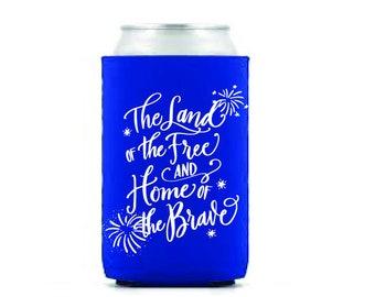 Drink Hugger | 4th of July (blue)
