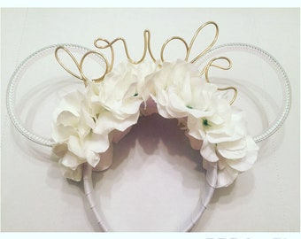 Bride Disney Inspired Wire Ears