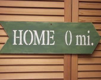 Road Sign to Home