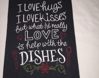 Help with the Dishes!