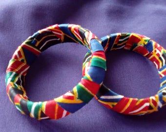 Wax canvas bracelet