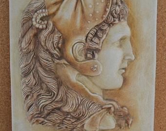 Αlexander the Great sculpture relief Oath Macedonian artifact sculpture