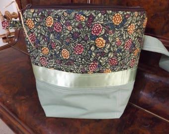 Project Bag Handmade Ooak Sock Shawl Size