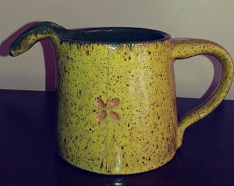 Adorable ceramic water pitcher