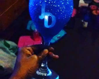 Initial Glam Glass