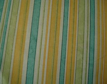 Aspire to Grow Stripe Cotton Fabric by the yard