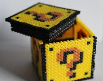 Hama Mario Question Mark Ring Box (plus accessory)