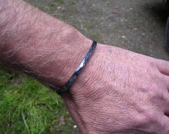 Pure Niobium Bracelet in Gun Metal Gray for Men and Women