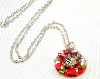 Diet Coke Rose Necklace NEW
