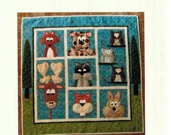 Eli's Forest Friends - quilt pattern