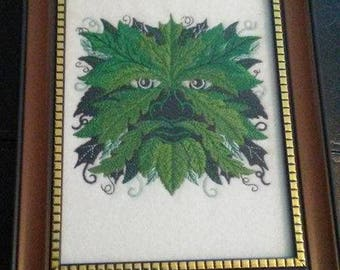 Greenman Portrait