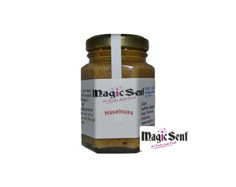 Hazelnut mustard, delicious sweet and nutty! (3.35 EUR / 100 ml)