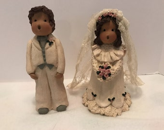 Simple Wonders Bride and Groom Figurines