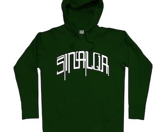 Sinaloa Mech Hoodie - Men S M L XL 2x 3x - Sinaloa Mexico Hoody, Sweatshirt, Mexican, Mazatlan, Culiacan, Los Mochis - 4 Colors