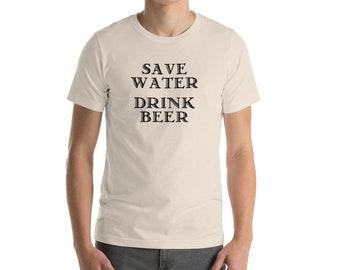 save water t shirt bella canvas unisex womens mens joke tshirt drinking shirt sarcastic tumblr drink