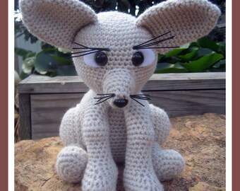 Fennec Fox Amigurumi Crochet Pattern