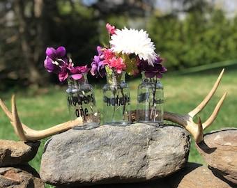 Indoor/Outdoor Mini Vase (set of 3)