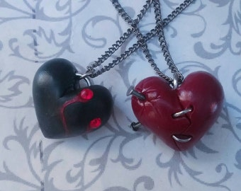 Monster Heart Pendant