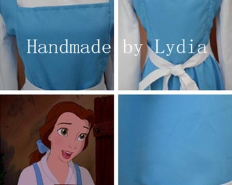 Handmade - Blue Belle Dress, Blue Belle Costume, Blue Belle Cosplay Costume Adult/kid