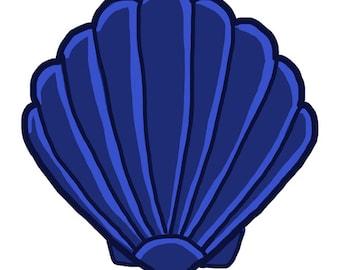 sand dollar original art download 2 files sand dollar clip rh etsy com Sand Dollar Images Printable Sea Turtle Clip Art