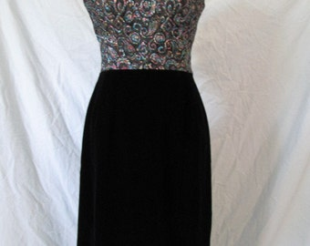 Vintage Wiggle Dress Late 50's early 60's