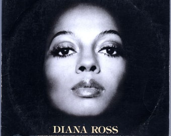 Diana Ross - self-titled (1976) Vinyl  Mahogany, Do You Know Where You're Going