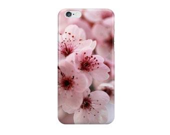 Limited Edition - Sakura (Japanese cherry blossom photo iPhone case / skin, Samsung Galaxy case / skin, macro blush pink bloom spring)