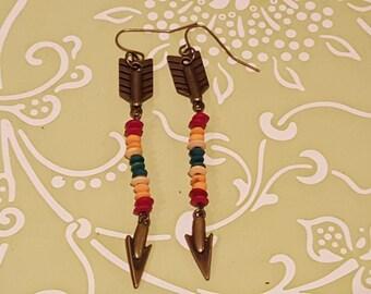 Tribal Arrow Earring