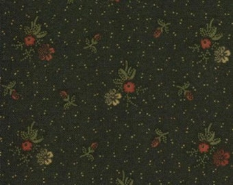 Kansas Troubles Favorites-Bunches in Black- 1/2 YD
