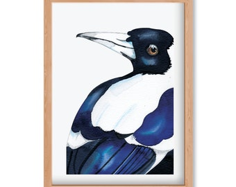 MagpieTHREE - Limited Edition Print