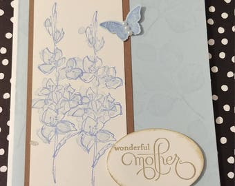 Wonderful Mother Card