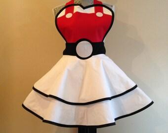 Pokemon Apron - Retro Apron - Cosplay Apron - Pokemon