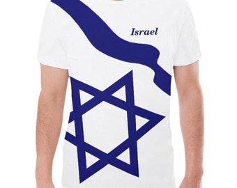 Israel Men's Flag Tee