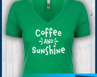 Coffee and Sunshine Shirt, First Coffee Shirt, Coffee Shirt, Coffee Mom Shirt, Mom Shirt, Mommy Shirt, Coffee Lover