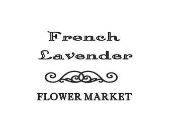 French Market decal-  small