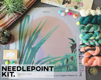Creative Needlepoint Kit - Tropical - Bon Bon Stitch