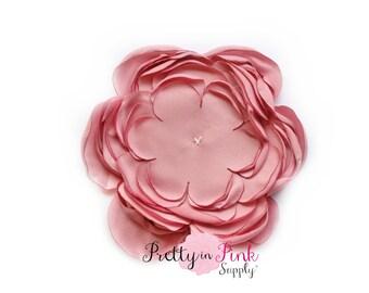 Dusty Rose Chrysanthemum Flower No Center- You Choose Quantity- Diy Headband Supplies- Flower- Wholesale- Supply Shop- DIY Flower Headband