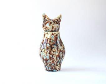 Basst Cat Urn- Mocha