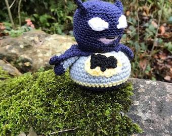 Little Batman Amigurumi Pattern
