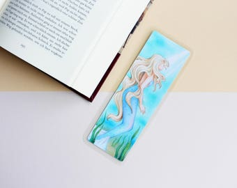 "Bookmark ""Mermaid"" Booklover woman girl present"
